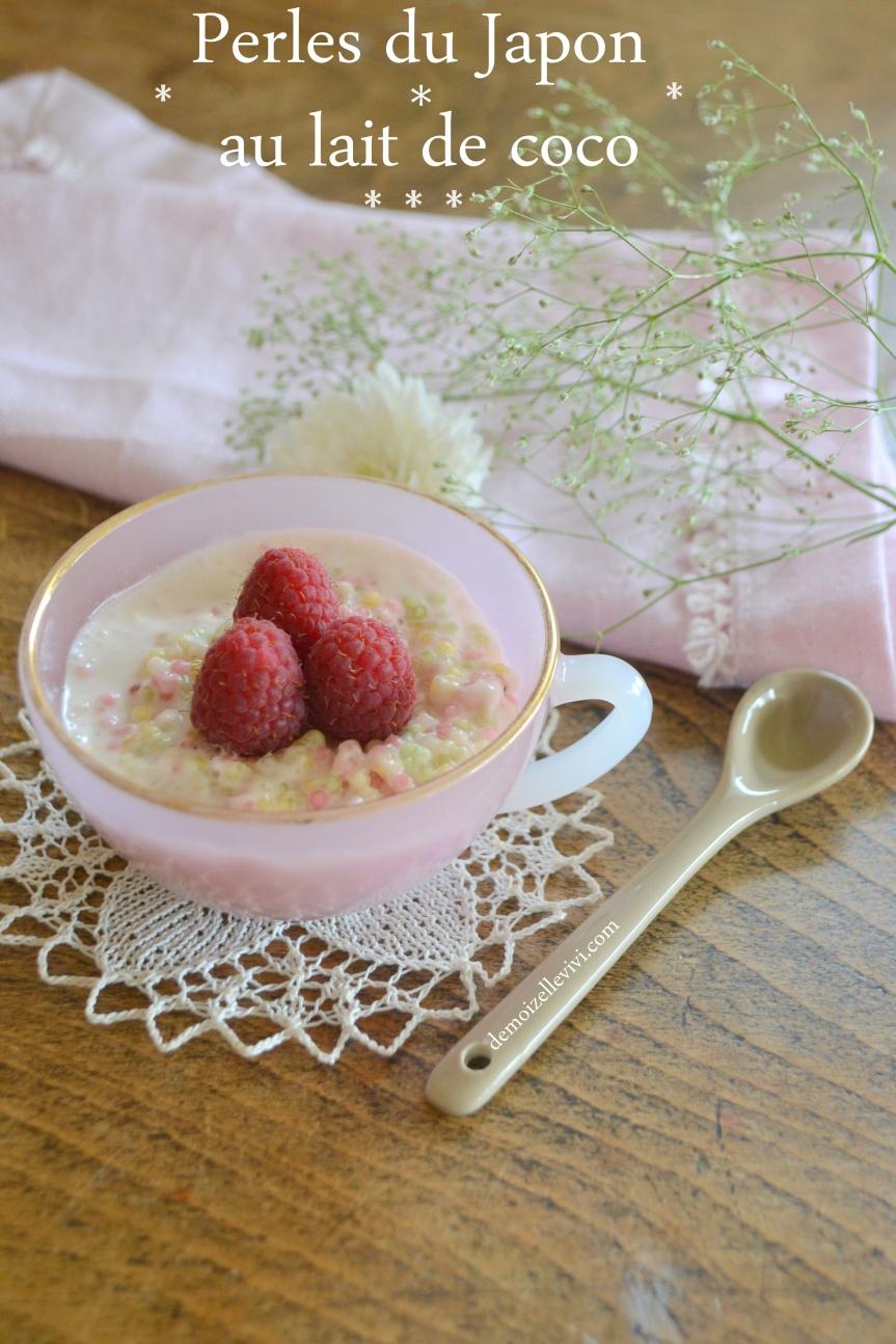 {Miam} Perles du japon au lait decoco