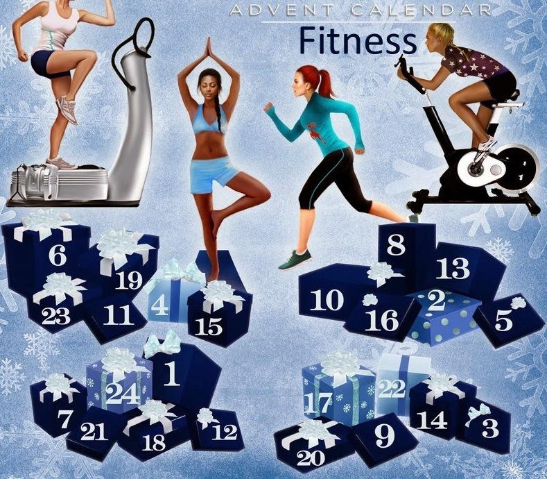 Calendrier De L Avent Rigolo.D I Y Mon Calendrier De L Avent Fitness Demoiz Elle Vivi